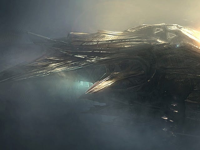 More Lovely Concept Art of Our Future Space Armadas