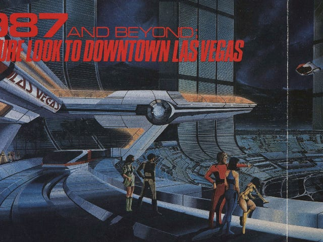 When Will Las Vegas Finally Look Like This Futuristic Illustration From the '80s?