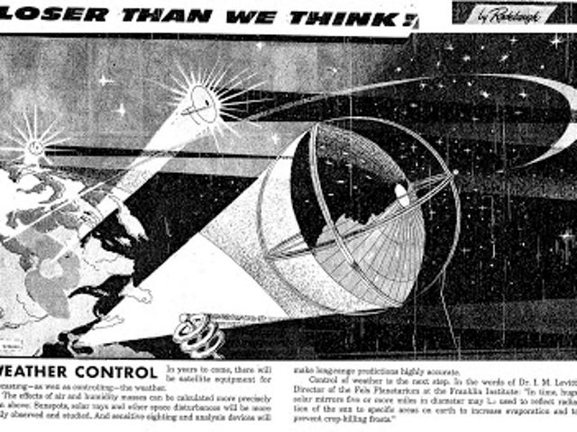 Closer Than We Think! Weather Control (1958)