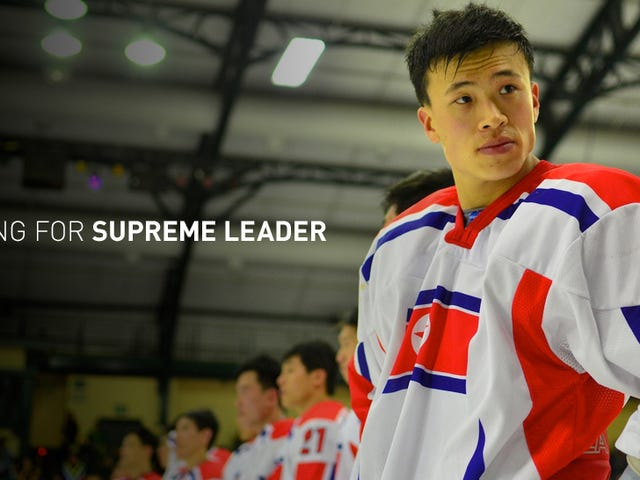 My Week With The North Korean Hockey Team