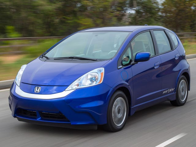 I May Lease an Electric Honda Fit