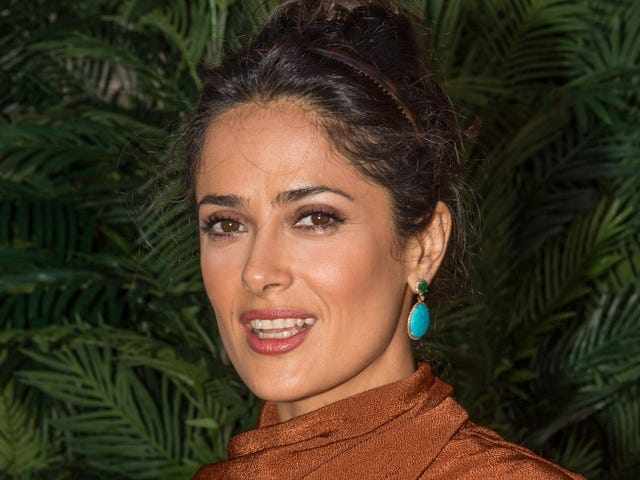 Duuuude: Salma Hayek Considered Her Baby Weight a 'Disfigurement'