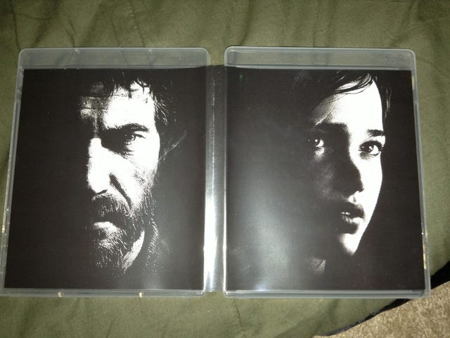 reversible cover for Last of Us