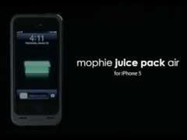 Mophie's New iPhone 5 JuicePack Has a Very Slightly Larger Battery