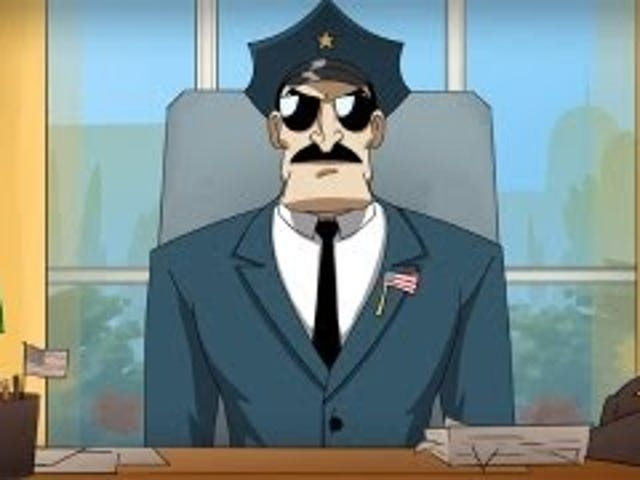 New Axe Cop cartoon proves Axe Cop is a president you can trust... to kill bad guys