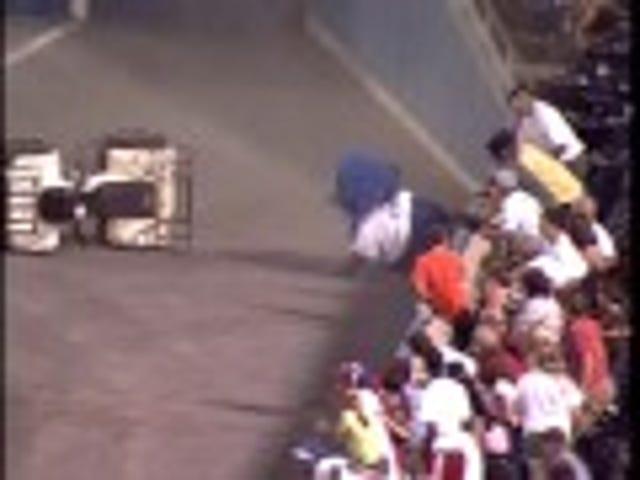 Minor League Mascot Eats It In ATV Crash