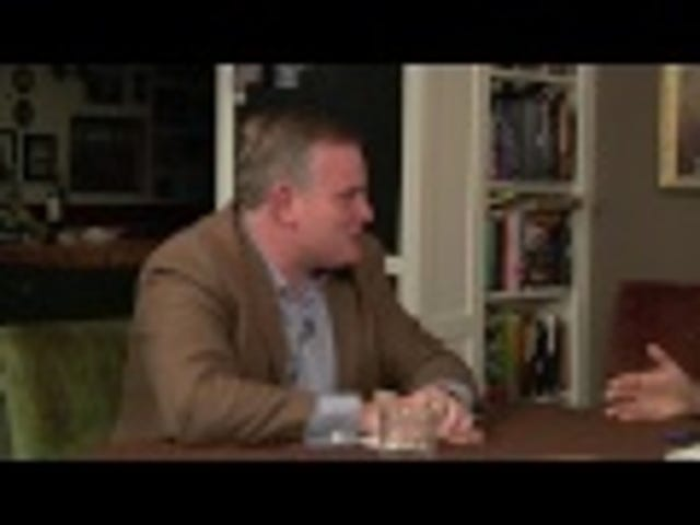 Watch Dan Savage Debate the President of the National Organization for Marriage at his Own Dinner Table