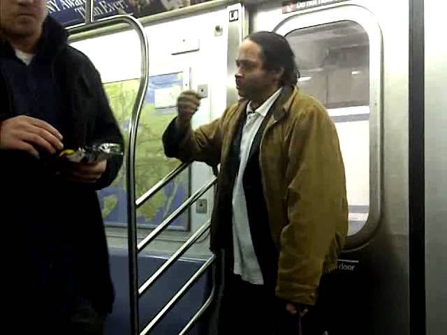 Hero Breaks Up Subway Fight in Best Possible Way, By Eating Chips