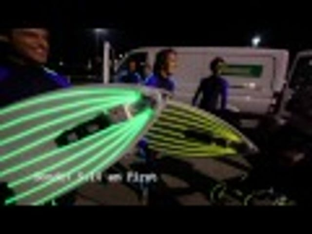 Does Anyone Else Think These Light-Up Surfboards Are an Awesomely Bad Idea?