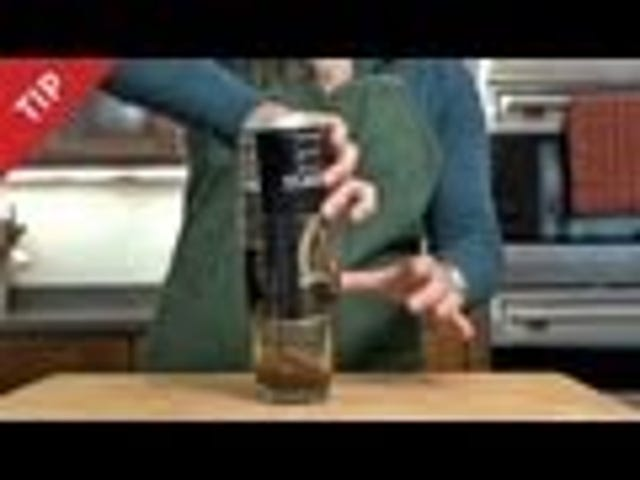 How to Pour the Perfect Pint of Guinness