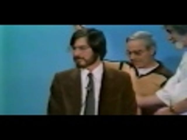 Watch a Young Steve Jobs Get Nervous About Being on TV