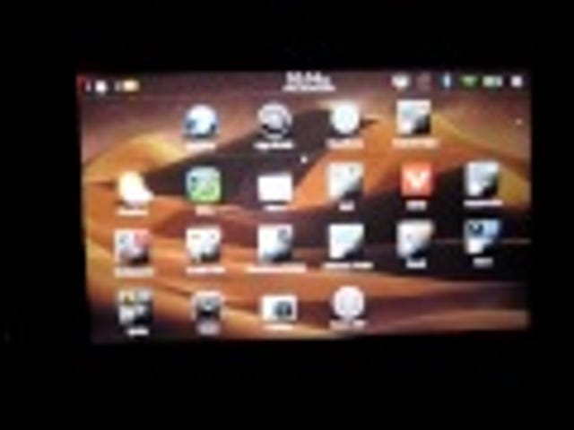 BlackBerry PlayBook's Killer New Feature, Android, Demonstrated on Video