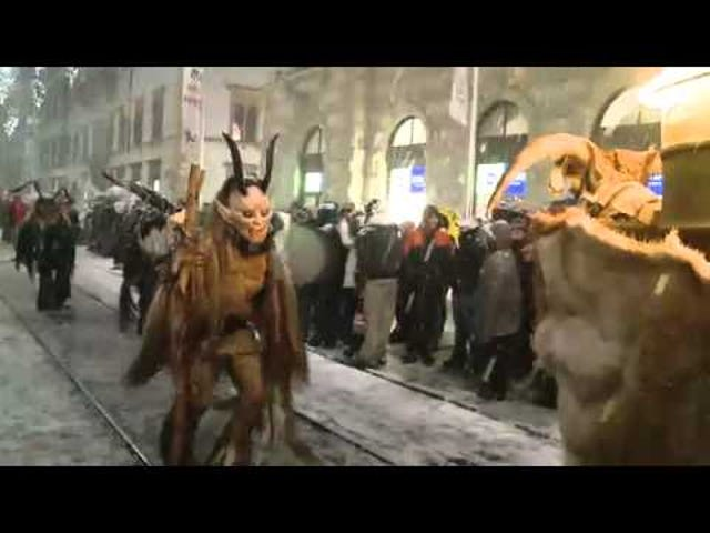Austria's Krampus Parade celebrates Santa's child-eating monster