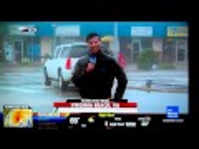 Why Would You Whip Your Penis Out During a Hurricane on National TV? (NSFW)