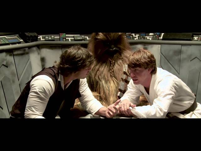 The trailer for the Star Wars porno is disturbingly safe for work