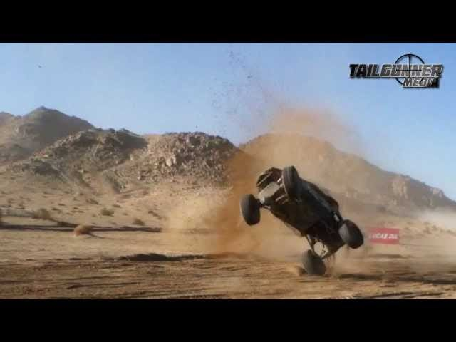 Watch An Off Road Racing Truck Barrel Roll Its Way Across The Finish Line
