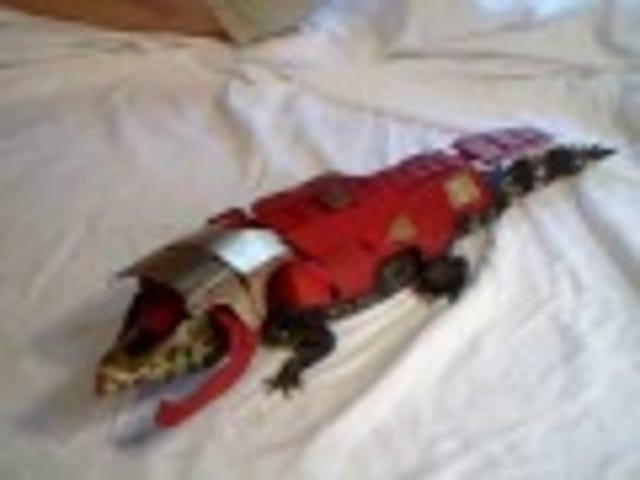 Who wants to see a lil' crocodile dressed up as Iron Man?