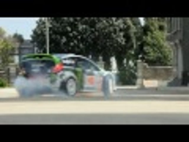 Gymkhana 4: Ken Block drifts around gorilla on a Segway