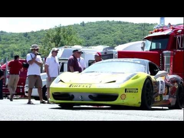 Check out the sights and sounds of the 2011 Ferrari Day at Lime Rock Park