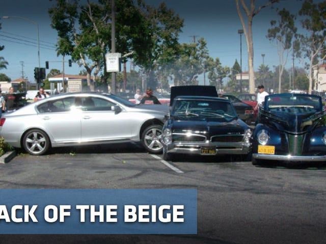 Lexus attacks two classic cars