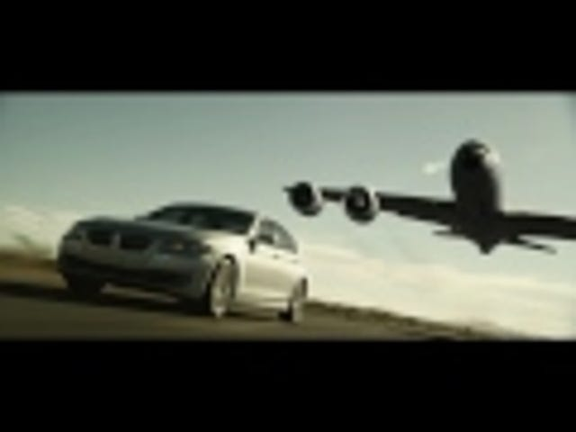 BMW's parody of famous Shell ad ends in a twist