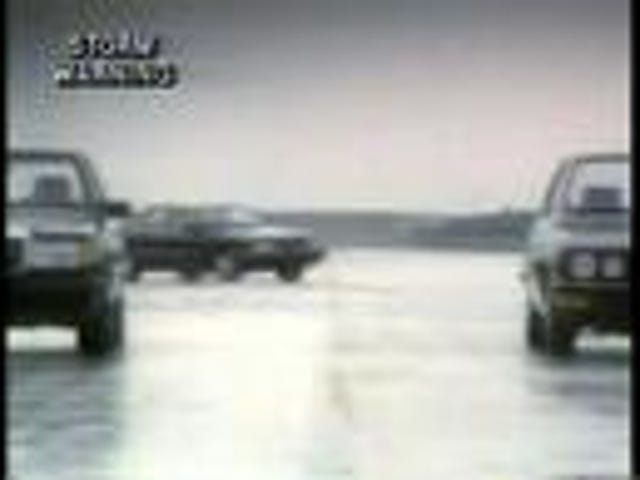 1987 Audi 5000 drives circles around BMW and Mercedes