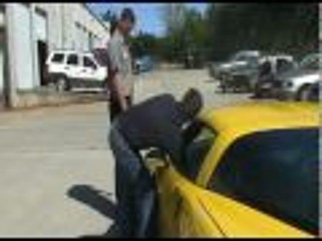 Man Attempts Corvette Z06 Burnout, Roasts Clutch Instead
