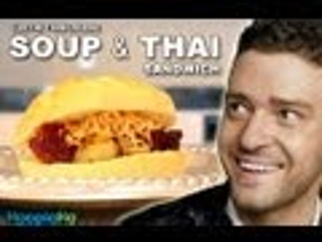 Learn How to Make Justin Timberlake's Insane 'Soup & Thai' Sandwich