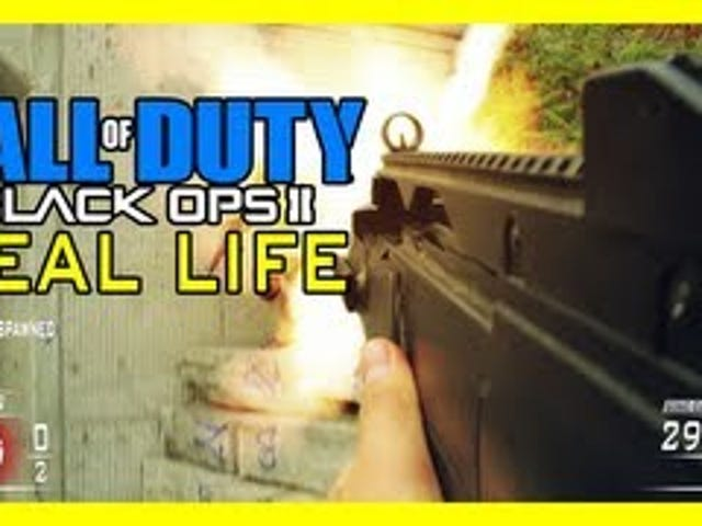 This Real-Life Version Of Black Ops 2 Reminds Me How Violent Black Ops 2 Is