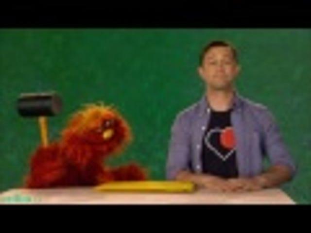 Charming Joseph Gordon-Levitt Is Charming on Sesame Street