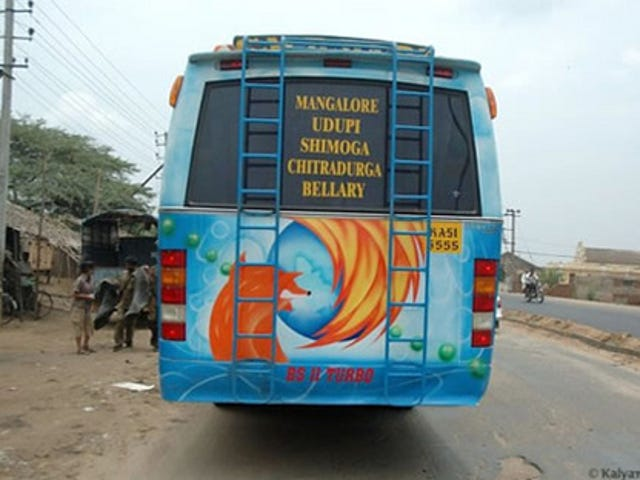 Indian Firefox Bus Probably Doesn't Have Wi-Fi