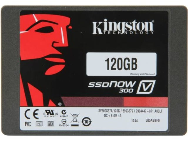 Get the Lowest Historical Price of $80 on this Kingston 120GB SSD