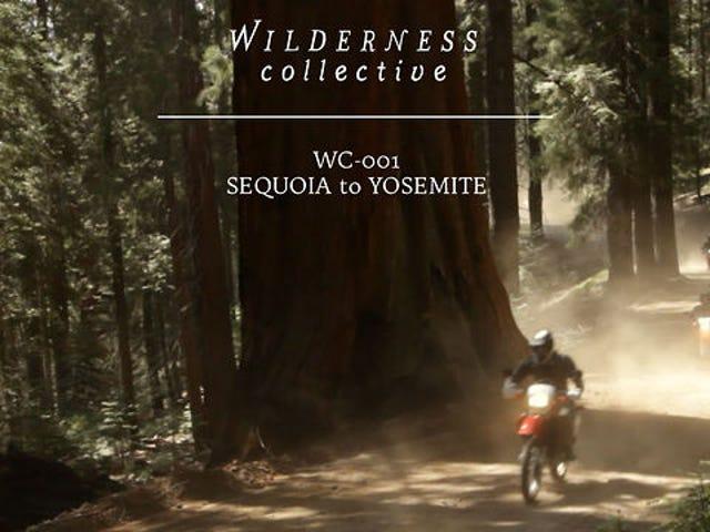 Sequioa To Yosemite By Dirt Bike