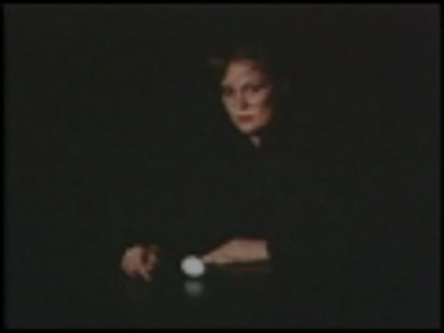 An Eggcellent Short Film Starring Faye Dunaway
