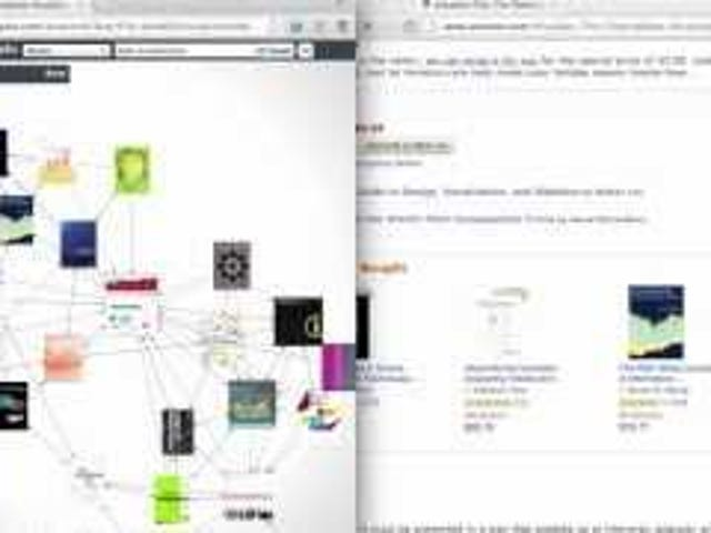 YASIV Lays Out Amazon Recommendations in a Visual Web for Easier Browsing