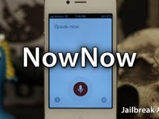 NowNow Launches Google Voice Search With a Siri-Like Shortcut on Jailbroken iPhones