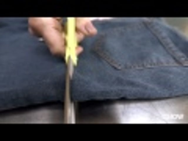 Recycle Jeans Into a Garden Apron