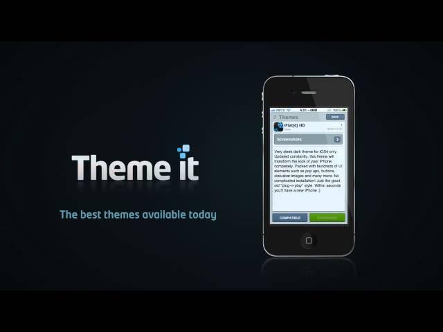 Theme it Makes iOS Interface Customization Easy on Jailbroken Devices