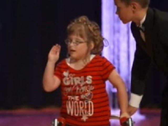 Kids With Special Needs Compete in 'Miss You Can Do It' Pageant