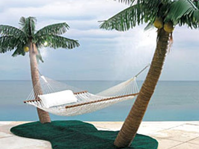 Tropical Island Hammock