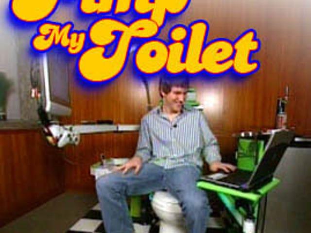 Pimp My John, Win a Bathroom Entertainment Center