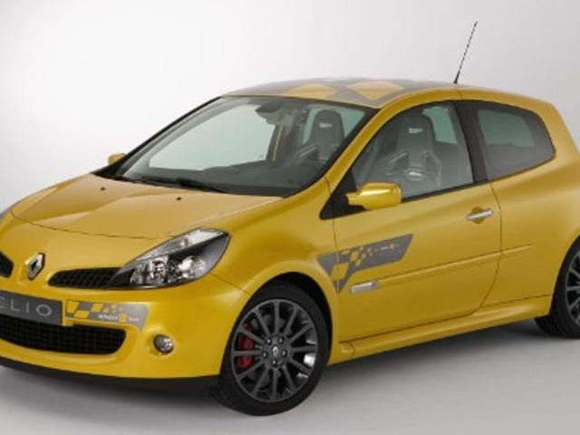 Race on Dimanche, Sell on Lundi: Renault's Limited-Edition Clio F1 Team