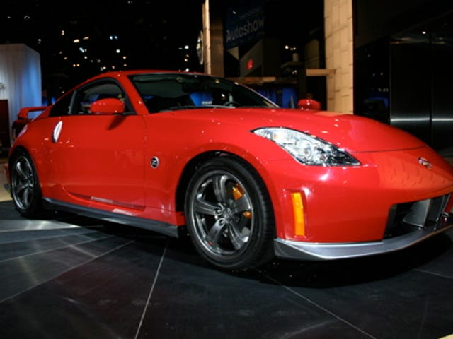 New York Auto Show: 2007 Nissan NISMO 350Z