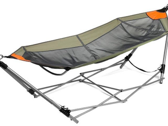 Carry This Hammock With You, But Not Too Far