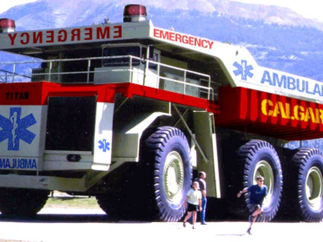Canadians Get Reinforced Ambulance for the Obese