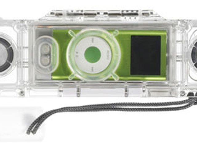IceBar Waterproof iPod Nano Speaker Case Keeps Your Tunes Afloat