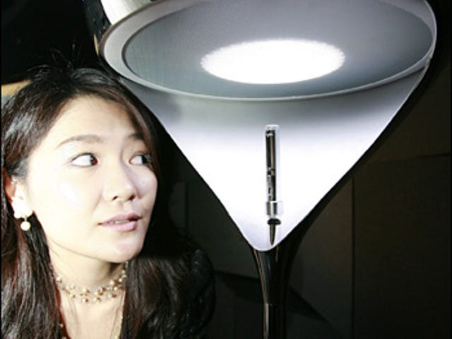 Sony Hana, Lamp + MP3 Player = What?