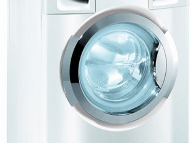Detergentless Haier Washing Machine Uses Ions to Clean Skid Marks