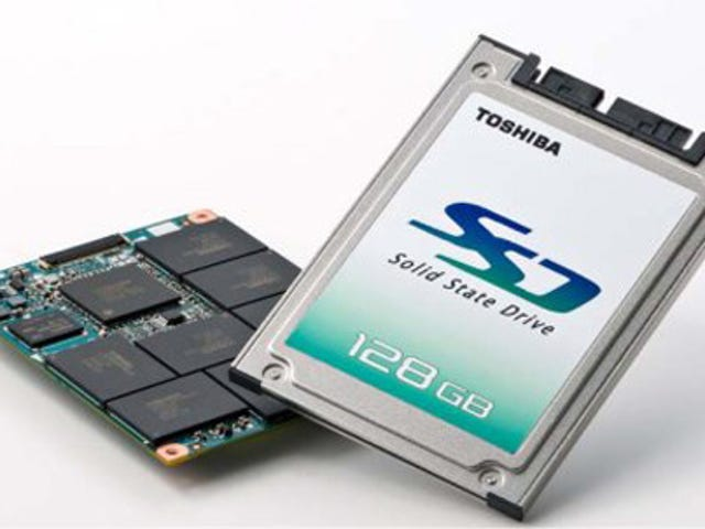 Toshiba Introduces 3 New SSD Flavors, 128GB is the Tastiest