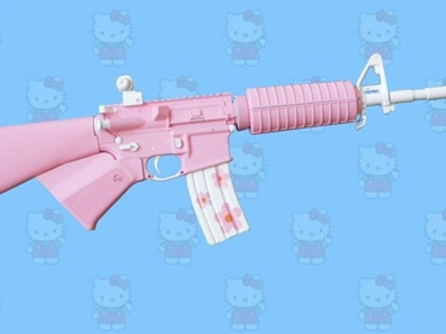 Hello Kitty Expands Upon Arsenal With AR-15 Rifle